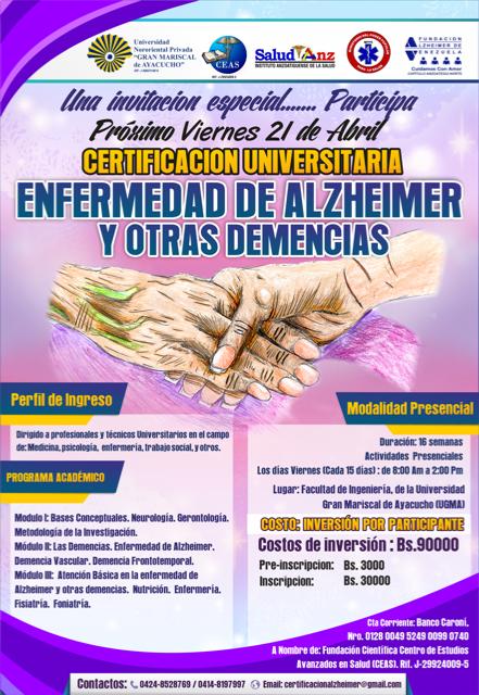 Afiche Certificación 21 de abril