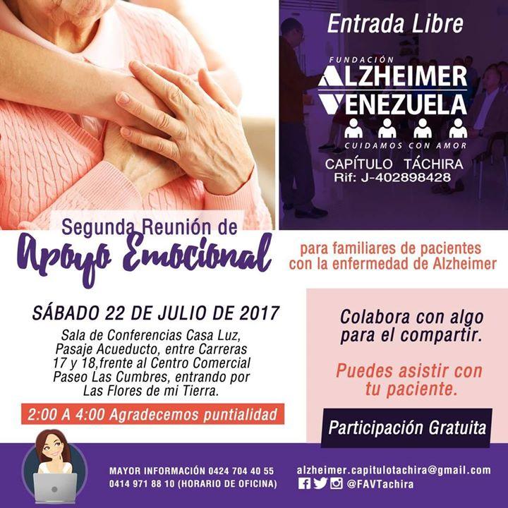 22 Julio Reunión Apoyo Emocional