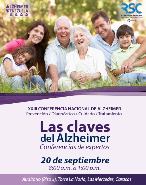 XXIII CONFERENCIA NACIONAL DE ALZHEIMER – CARACAS 2019