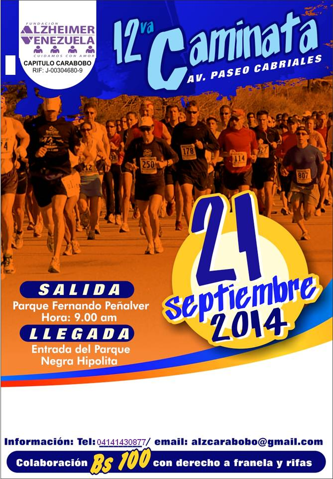 12ava Caminata en Valencia