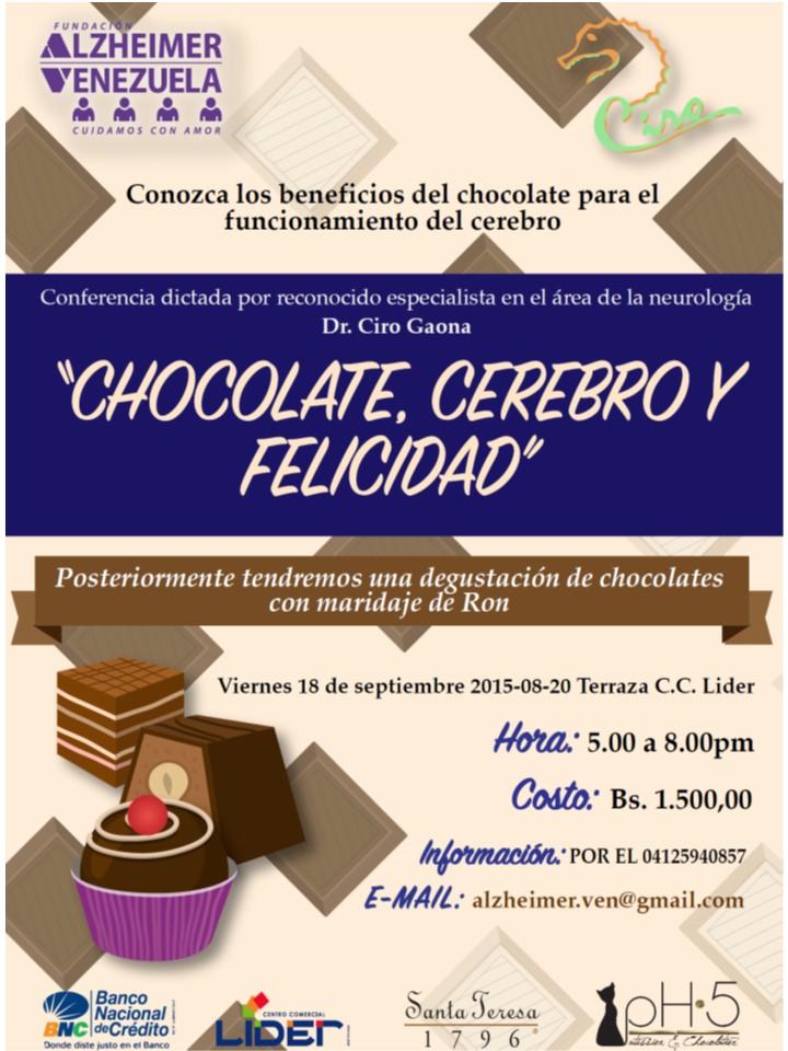 Conferencia y Cata Chocolate