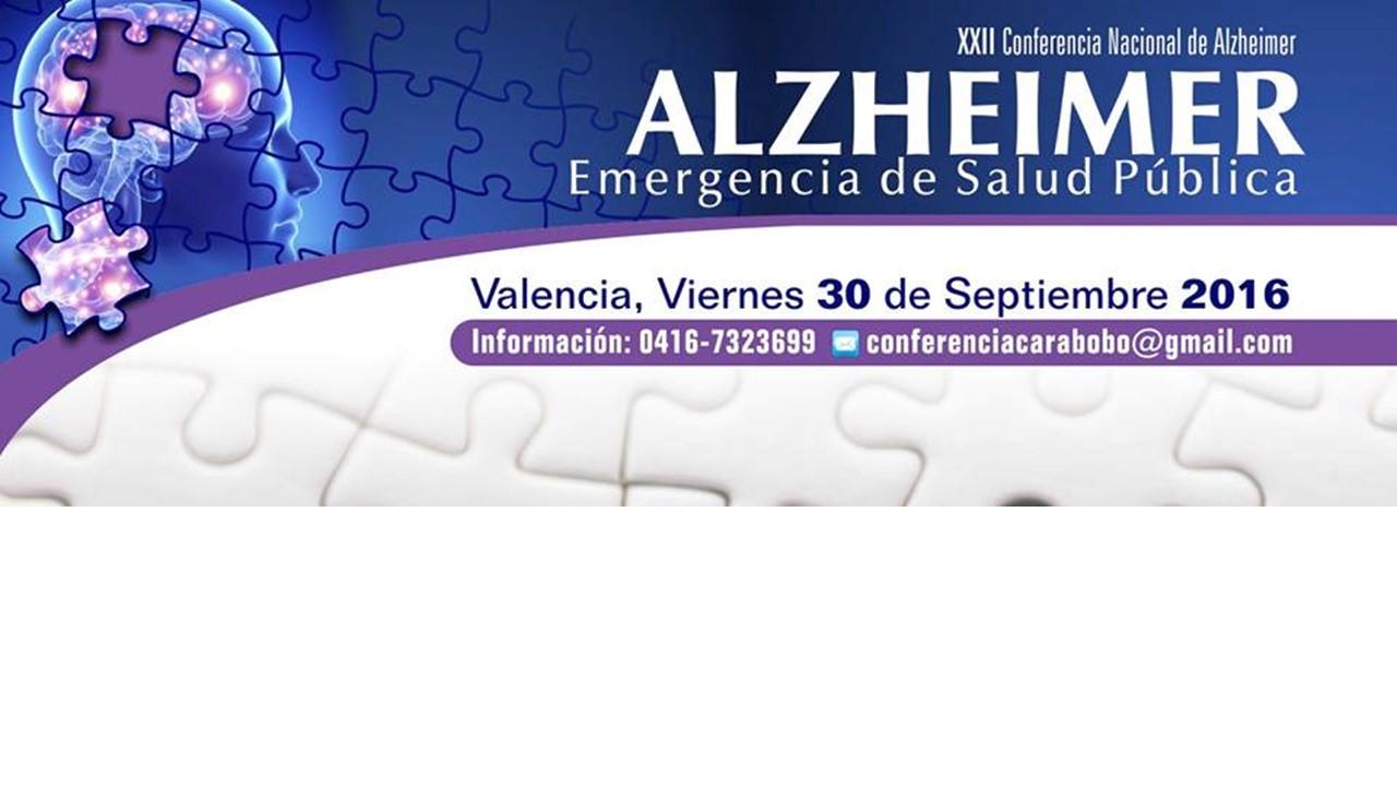 AFICHE XXII CONFERENCIA ALZHEIMER
