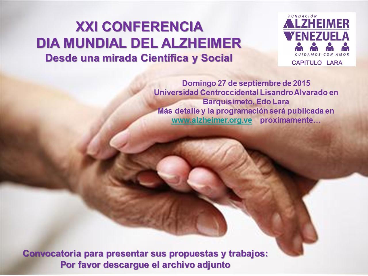 Afiche convocatoria propuestas XXI Conferencia