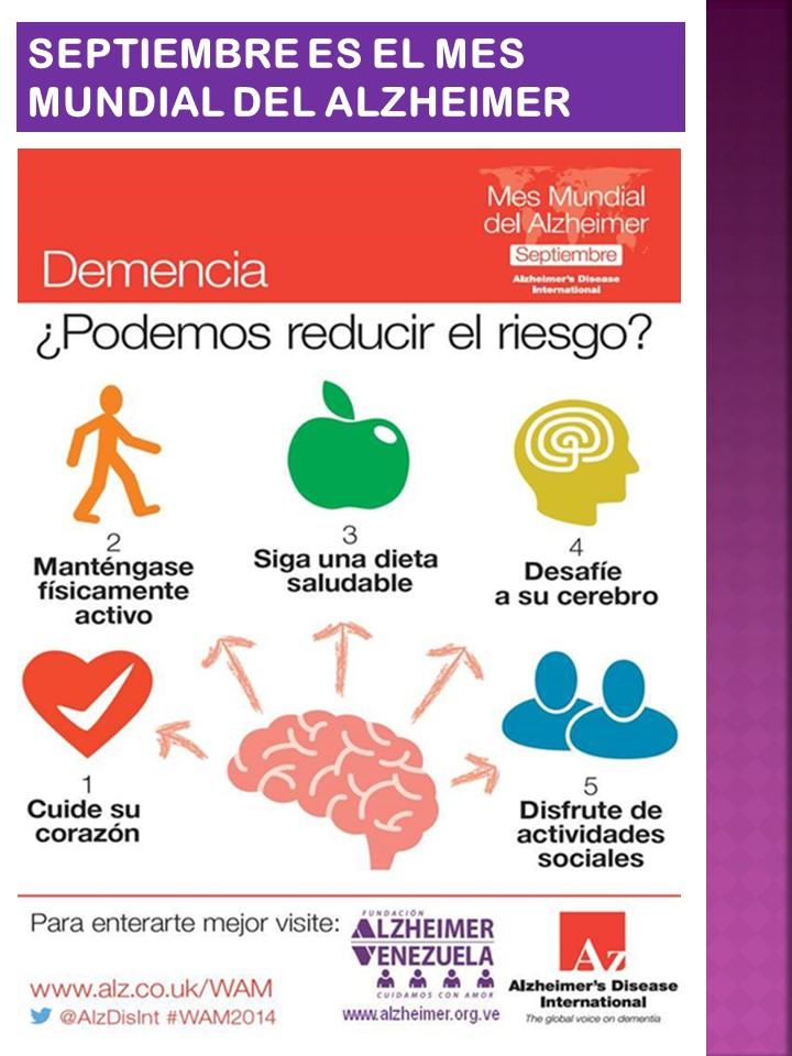 Mes Mundial del Alzheimer