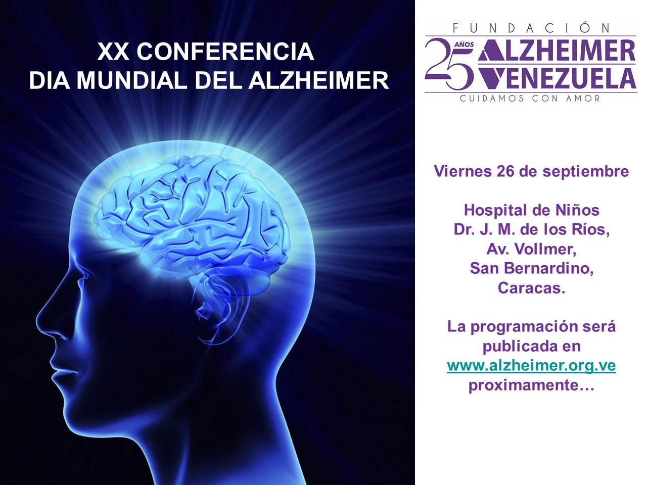 XX Conferencia Dia Mundial del Alzheimer