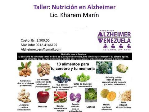 Taller de Nutrición en el Alzheimer