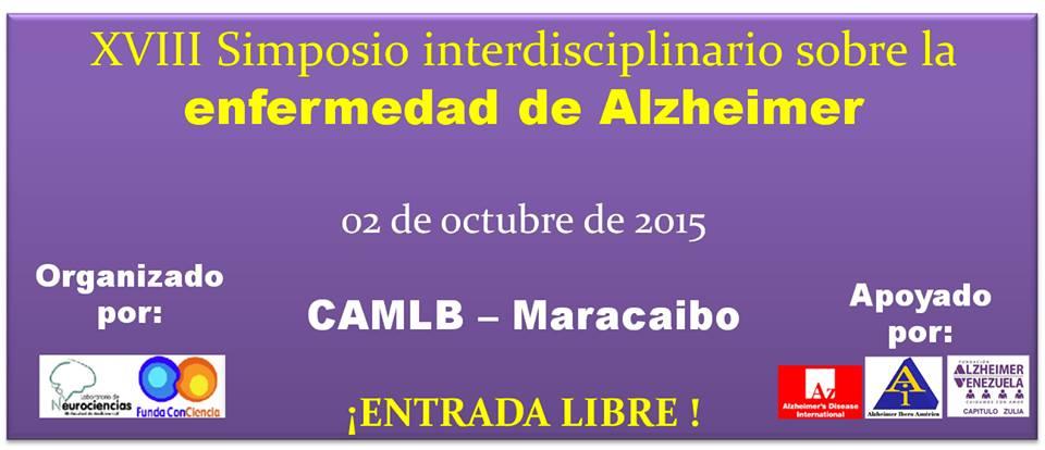 XVII Simposio interdisciplinario sobre la enfermedad de Alzheimer